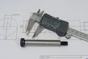 Micrometer and part design and engineering